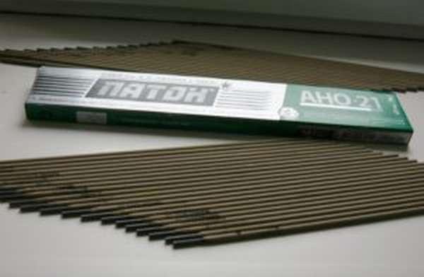 Описание и технические характеристики сварочных электродов АНО-21