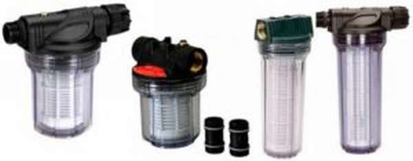 4 типа фильтров