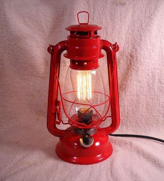 Настольная ретро-лампа на светодиодах с диммером