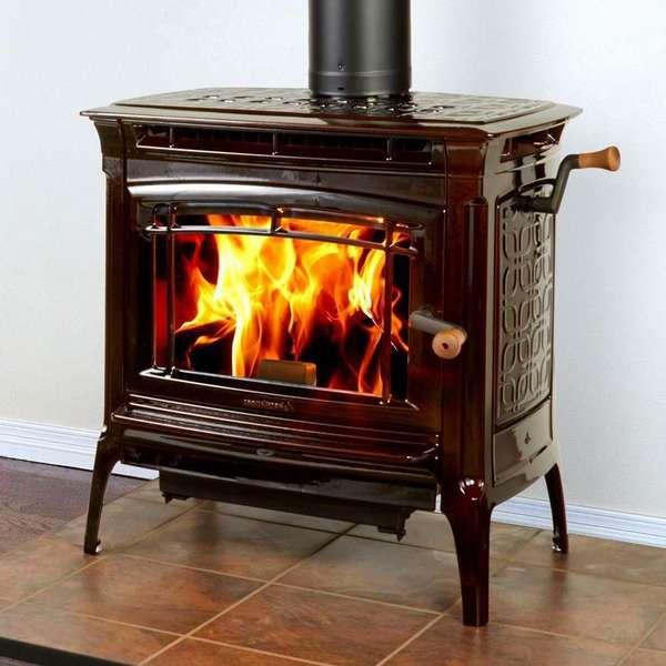 Печь-камин – стильное решение для интерьера