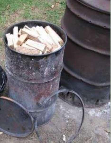Углевыжигательная печь своими руками