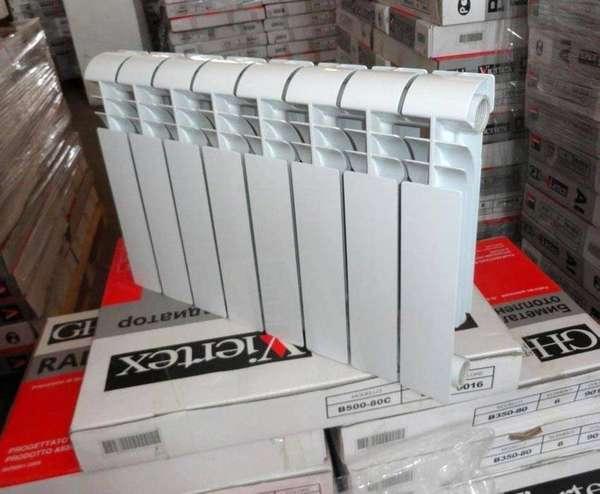 Из отдельных секций можно собрать батарею практически любой тепломощности