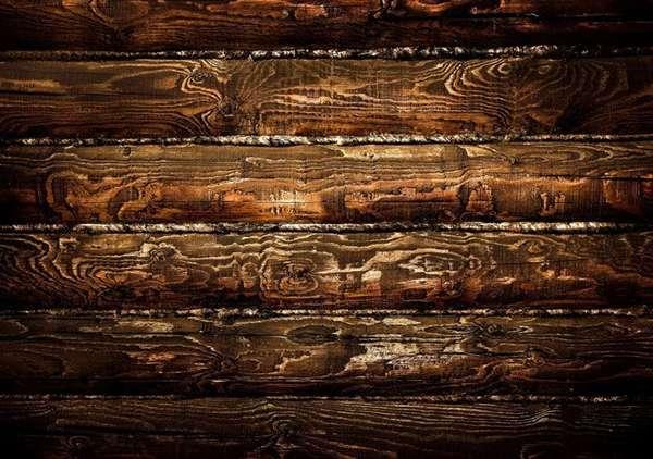Стена из бревен – одна из самых утепленных