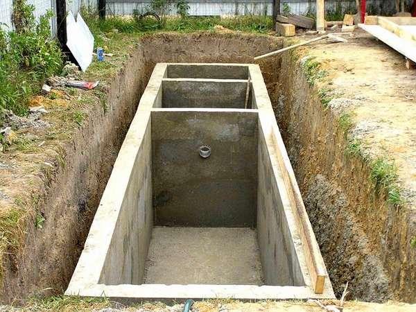 Строительство канализационного сооружения своими руками