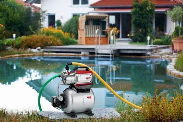 Подача жидкости в частный дом может осуществляться из любого водоема