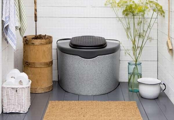 туалет торфяной для дачи