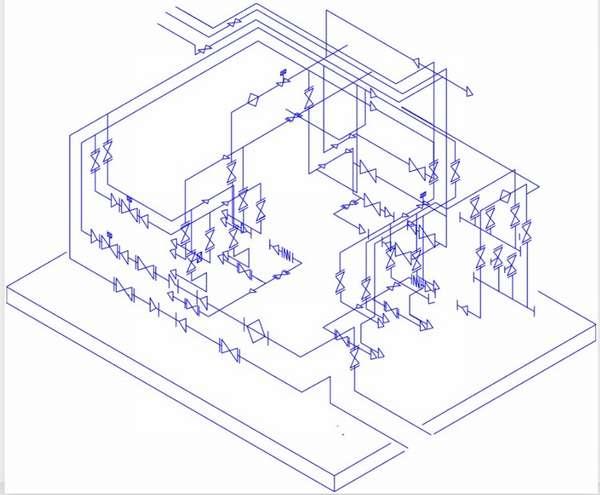 Правила оформления схемы сварных стыков трубопроводов