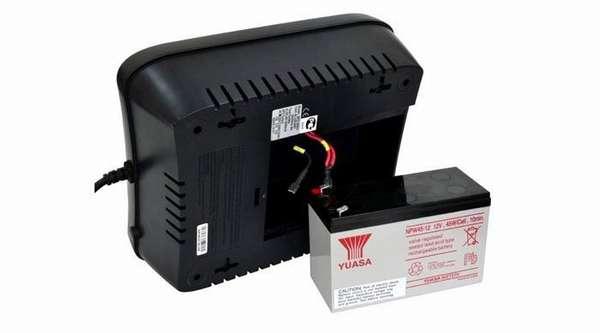 Аккумуляторная батарея в ИПБ легко меняется самостоятельно