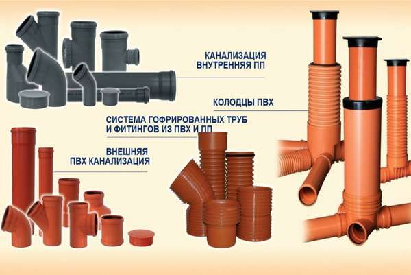 Как подобрать правильные канализационные трубы из ПВХ: виды и таблицы размеров