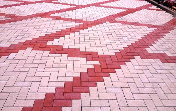 бетонная брусчатка