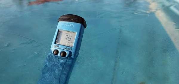 влажность в бассейне