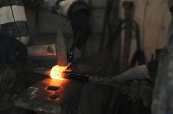 Технология кузнечной сварки металла или сварки ковкой