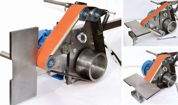 Гриндер «от Чапая»− универсальный станок для обработки изделий сложной формы из металла, пластика и дерева