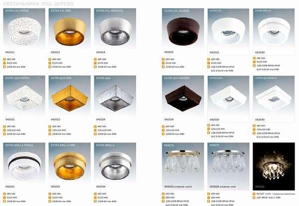 В широком ассортименте профильных производителей можно найти светодиодные светильники «под дерево», в классическом и другом стиле
