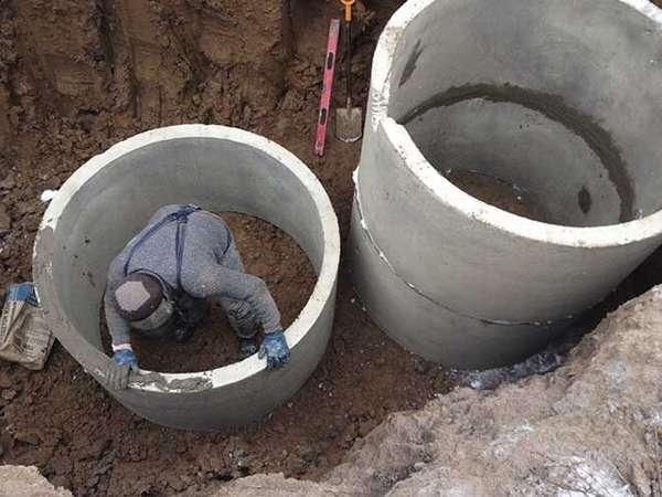 Смеси для гидроизоляции колодца из бетонных колец завод бетон в михнево