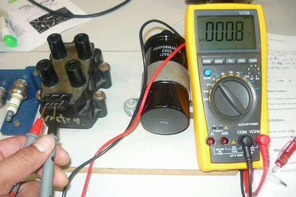 Мультиметр полностью готов к выполнению работы