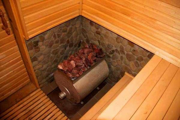 Печка для бани цилиндрической конфигурации