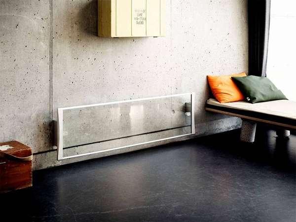 Прозрачный прибор станет изюминкой интерьера в стиле LOFT