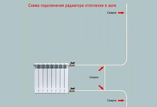 Схемы подключения могут быть различными