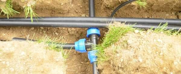 Водопроводные трубопроводы под землей