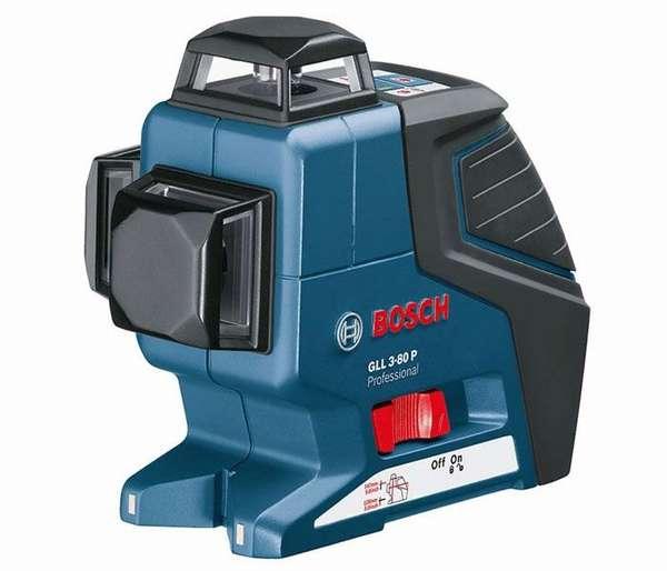 Bosch GLL 3-80 - профессиональный линейный лазерный построитель плоскостей.