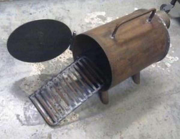 Как сварить печку в гараж своими руками 2 разных способа изготовления