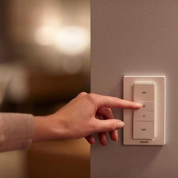 Диммеры прекрасно вписываются в интерьер квартиры или частного дома