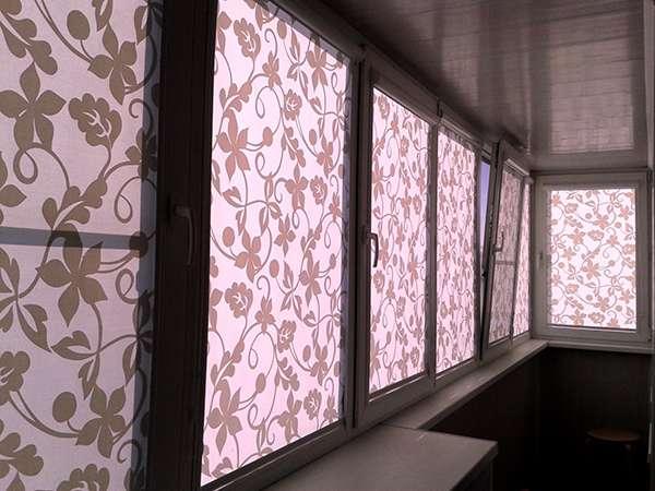 Как выбрать шторы на балкон