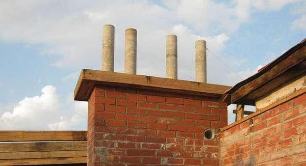 Выбираем правильную трубу для дымохода: обзор всех возможных вариантов + как понять что лучше