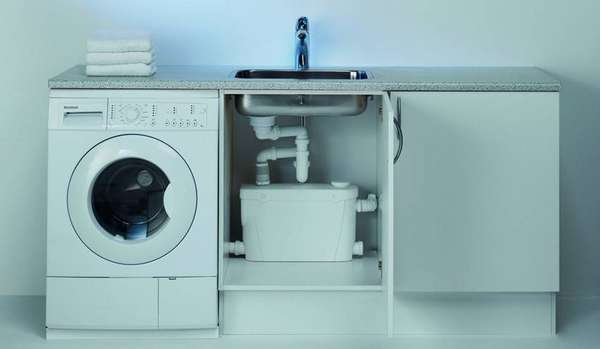 Как установить стиральную машинку на кухне