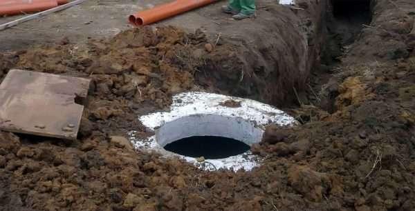 Монтаж канализационной камеры