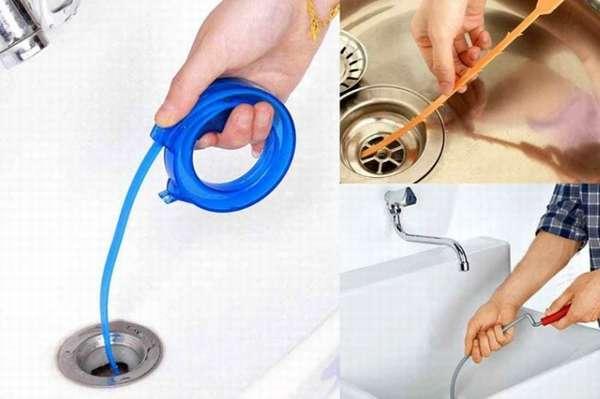 Инструменты для очистки канализационных сетей