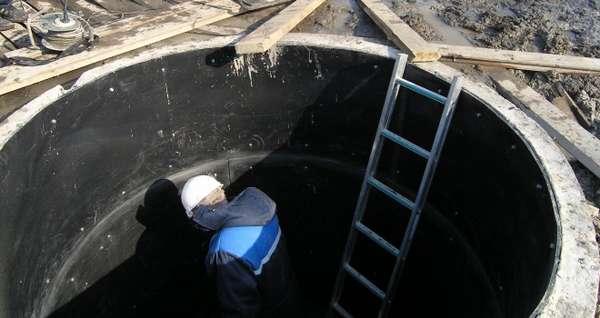 футеровка канализационных колодцев