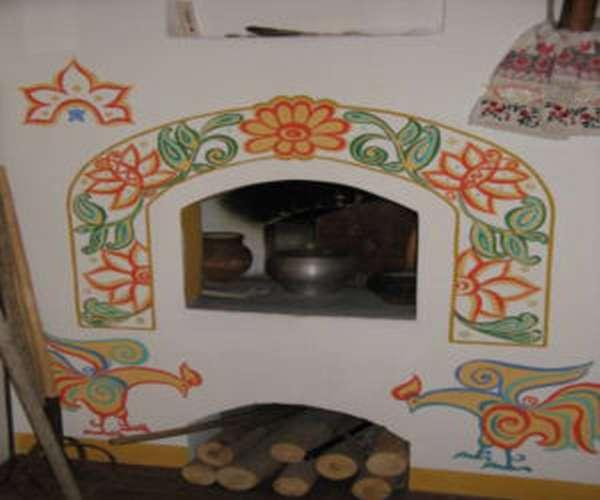 Как и чем побелить печь в доме?