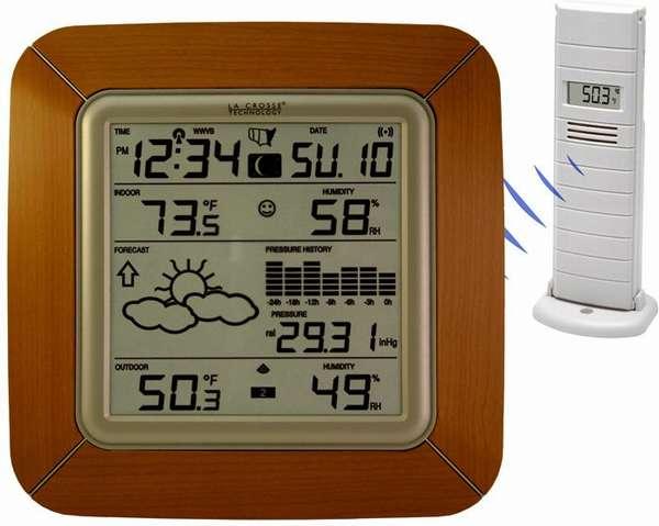 Довольно точная метеостанция «La Crosse WS9057»