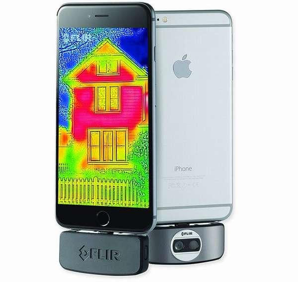 Устройство «FlirOne» для смартфонов на базе «IOS»
