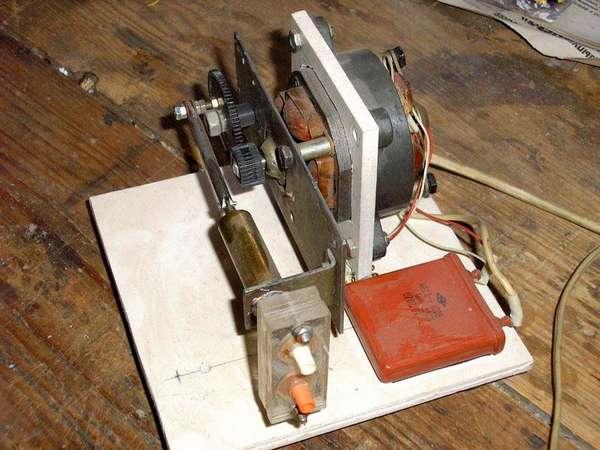 Вот так может выглядеть самодельный компрессор