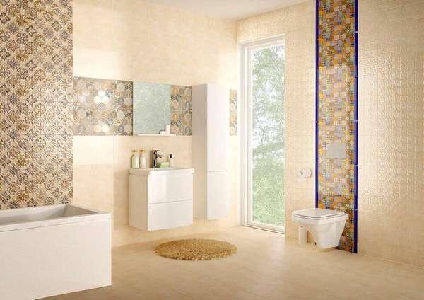 Комплексное оснащение ванной комнаты продукцией компании с инсталляцией Церсанит Делфи