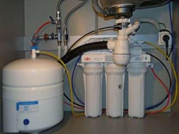 Где ставить водяной фильтр