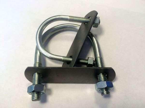 U-образное ремонтное сантехническое изделие, требующее резиновой вставки при монтаже