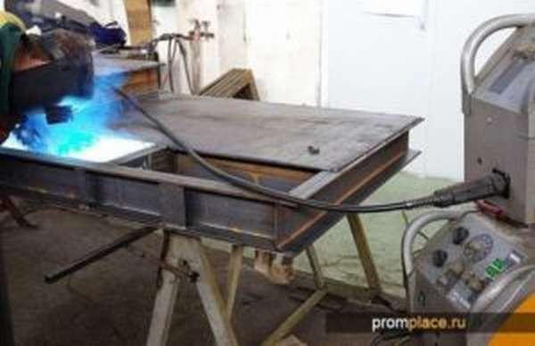 Сварочный полуавтомат без углекислого газа для сварки проволокой