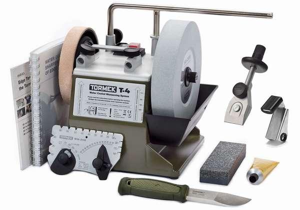 Станок Tormek – один из представителей полупрофессионального оборудования