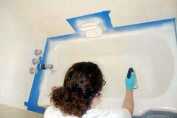 Восстановление старой ванны
