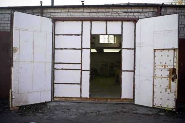 Утепление гаража по технологии