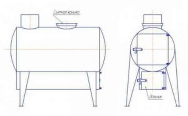 Делаем печь для сжигания мусора своими руками 2 варианта постройки