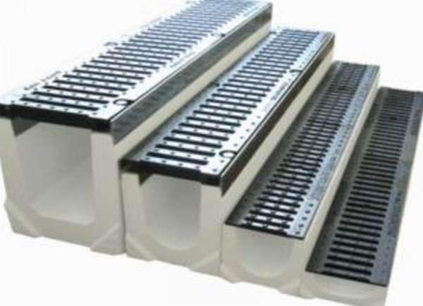 Устройство водоотвода бетонного