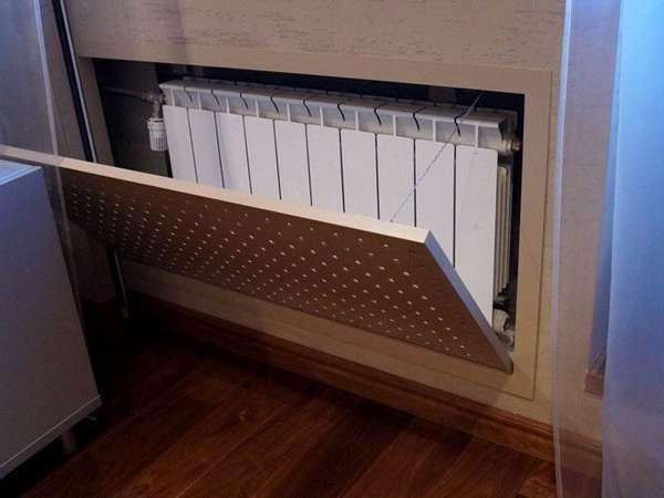 Немного о теплотехнике, или Зачем нужен экран для батареи отопления