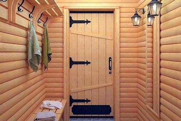 дверь в комнату отдыха