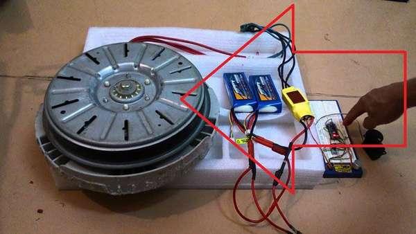Бесколлекторный электродвигатель