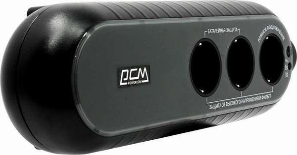 Powercom WOW 300 – довольно компактный источник бесперебойного питания